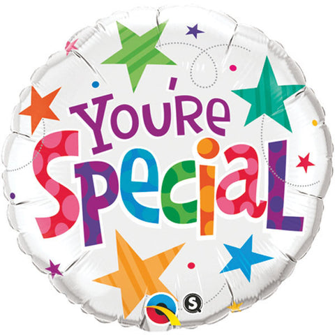 "18"" Round Foil You're Special Stars #33341 - Each (Pkgd.)"