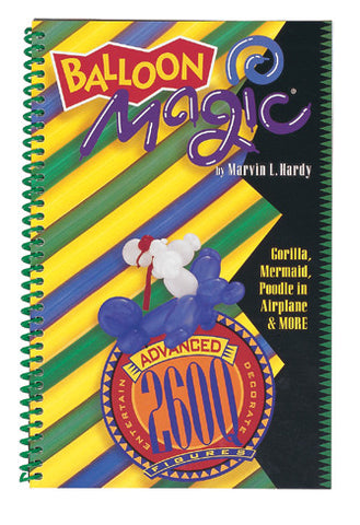 Balloon Magic 260Q Figure Book Advanced #34999 - Each