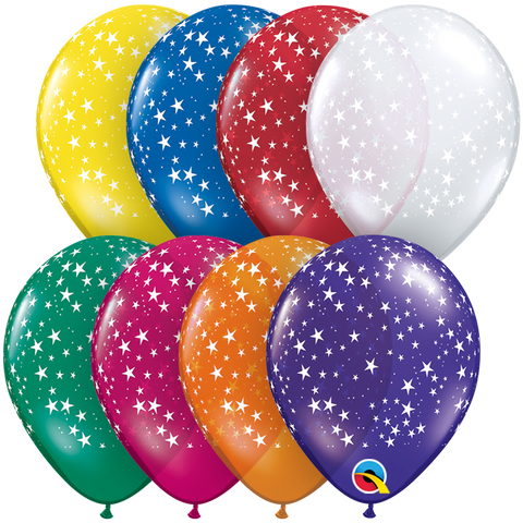 "05"" Round Jewel Assorted Stars-A-Round #38842 - Pack of 100"