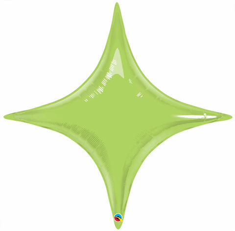 "40"" Shape Foil Starpoint Lime Green #39294 - Each (Unpkgd.)"