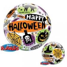 "22"" Single Bubble Halloween Messages & Icons #43433 - Each"