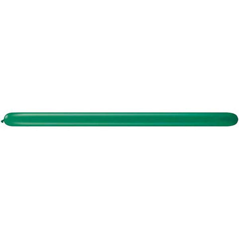 350Q Emerald Green Qualatex Plain Latex #44040 - Pack of 100