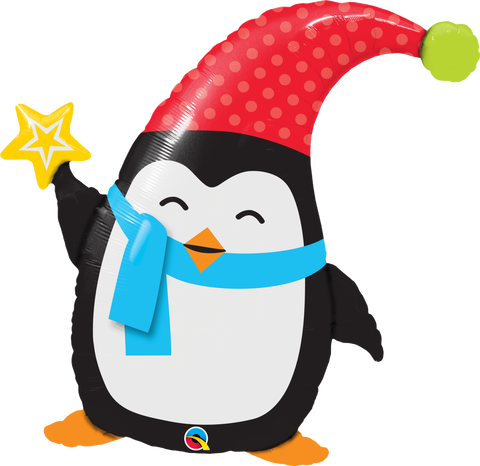 "35"" Shape Foil Popular Elfin Penguin SW #44232 - Each (pkgd.)"