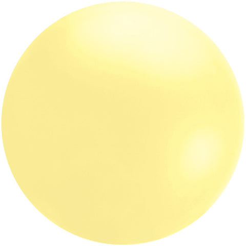Cloudbuster 5.5' Pastel Yellow Cloudbuster Balloon #44809 - Each