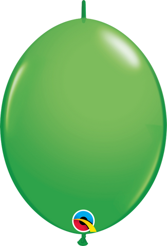 "12"" Quick Link Spring Green Qualatex Quick Link Balloons #45717 - Pack of 50"