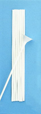 "Qualatex 12"" Micro Balloon Stick White #48786 - Pack Of 100"