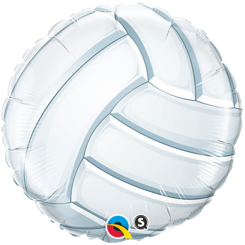 "18"" Round Foil Volleyball #49922 - Each (Pkgd.)"