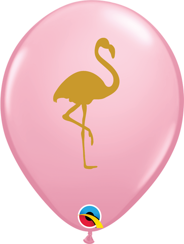 "11"" Round Pink Flamingo #57434 - Pack of 50"
