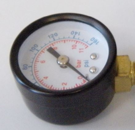 "Replacement Pressure Gauge 1/8"" Mpt #60018 - Each"