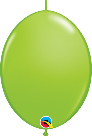 "12"" Quick Link Lime Green Qualatex Quick Link Balloons #65217 - Pack of 50"
