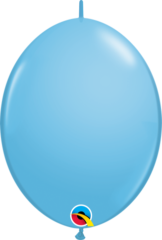 "12"" Quick Link Pale Blue Qualatex Quick Link Balloons #65223 - Pack of 50"
