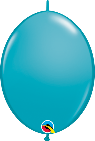 "12"" Quick Link Tropical Teal Qualatex Quick Link Balloons #65228 - Pack of 50"