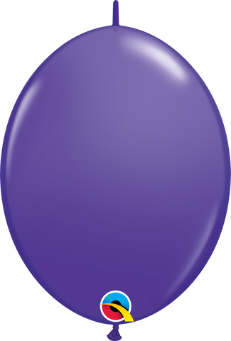 "12"" Quick Link Purple Violet Qualatex Quick Link Balloons #65230 - Pack of 50"