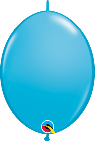 "12"" Quick Link Robin's Egg Qualatex Quick Link Balloons #65274 - Pack of 50"