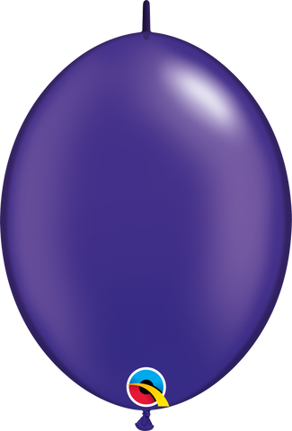 "06"" Quick Link Pearl Quartz Purple Qualatex Quick Link Balloons #90539 - Pack of 50"