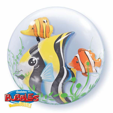 "24"" Double Bubble Seaweed Tropical Fish #68809 - Each"