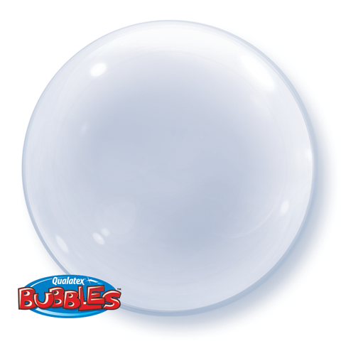 "24"" Deco Bubble Clear #68825 - Each"