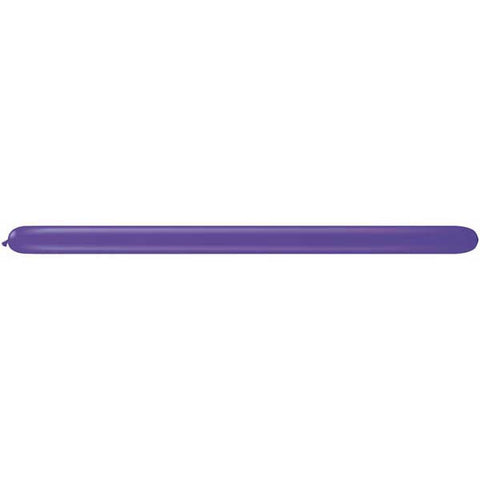 350Q Purple Violet Qualatex Plain Latex #82709 - Pack of 100