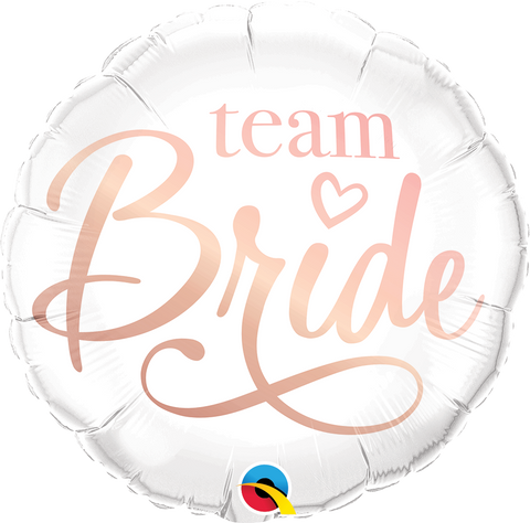 "18"" Round Foil Team Bride #88165 - Each (Pkgd.)"
