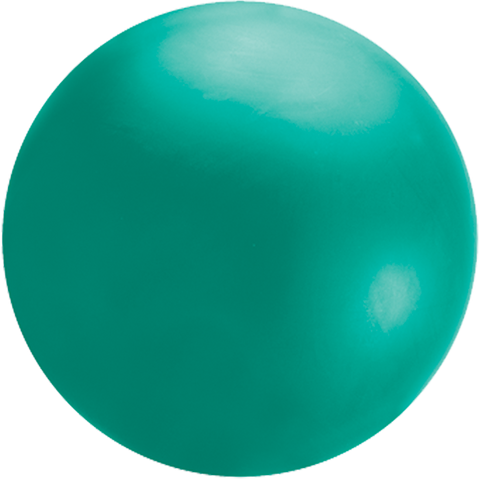 Cloudbuster 4' Green Cloudbuster Balloon #91211 - Each