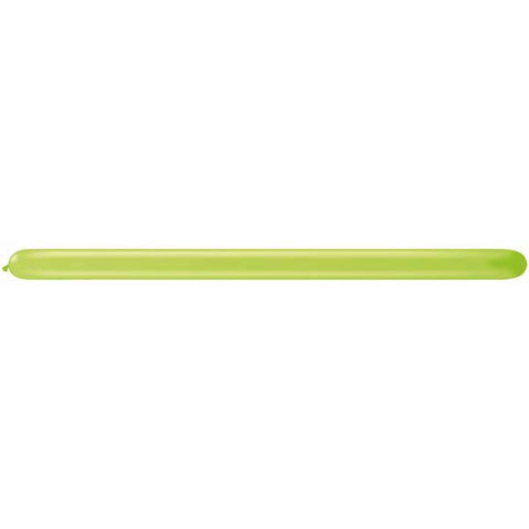 350Q Lime Green Qualatex Plain Latex #98529 - Pack of 100