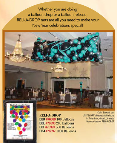 Reli-A-Drops Net #76391 - 500 Balloon Net
