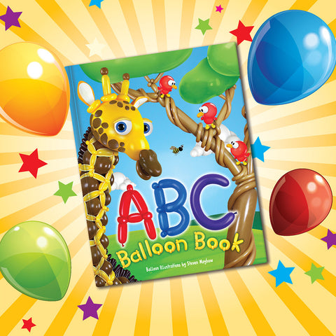 ABC Balloon Book #49876 - Each