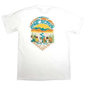 Nature Back White Come Together Tee