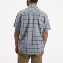 Load image into Gallery viewer, Howler Bros H Bar B Tech Shirt in Portabella Plaid