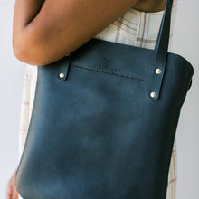 Load image into Gallery viewer, Everyday Leather Black Tote