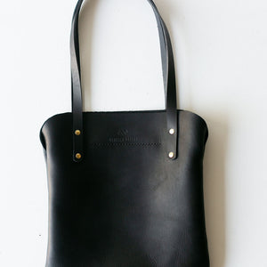 Everyday Leather Black Tote