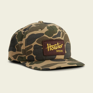 Howler Camo Electric Snapback