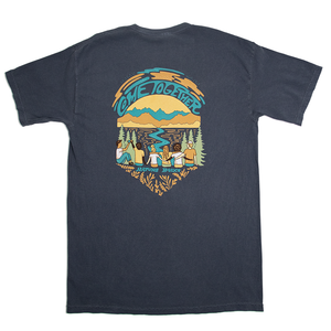 Nature Back Ocean Come Together Tee