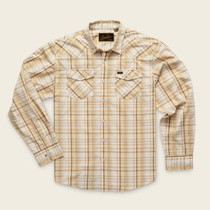 Howler H Bar B Panhandle Plaid Long-sleeve