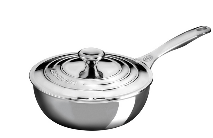 STAINLESS STEEL SAUCIER PAN