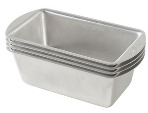 Set of 4 Mini Loaf Pans