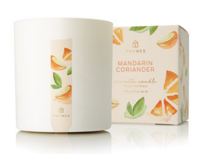 MANDARIN CORIANDER POURED CANDLE