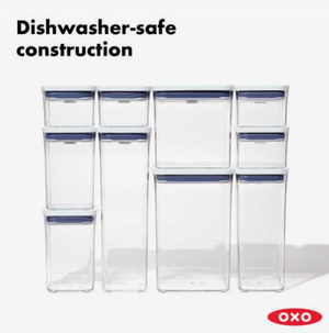 OXO POP Container, Rectangle Tall 3.7 qt.
