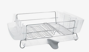 Folding Stainless Steel Dish Rack