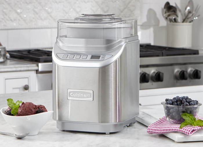 COOL CREATIONS™ 2 QUART ICE CREAM MAKER