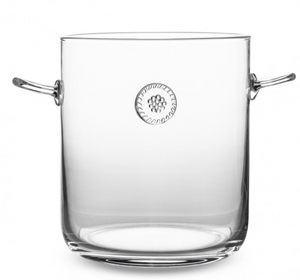 Berry & Thread Ice Bucket with Tongs