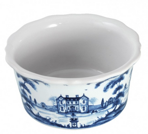 Country Estate Delft Blue Ramekin Tea Party Tent