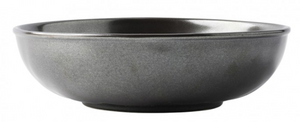 Pewter Stoneware Coupe Pasta/Soup Bowl
