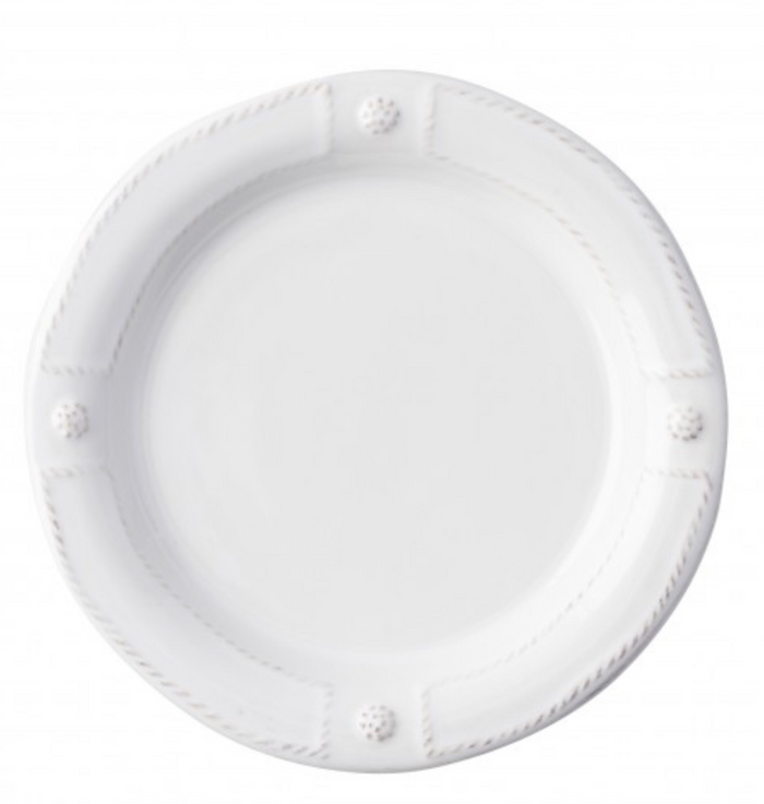Berry & Thread French Panel Whitewash Side/Cocktail Plate