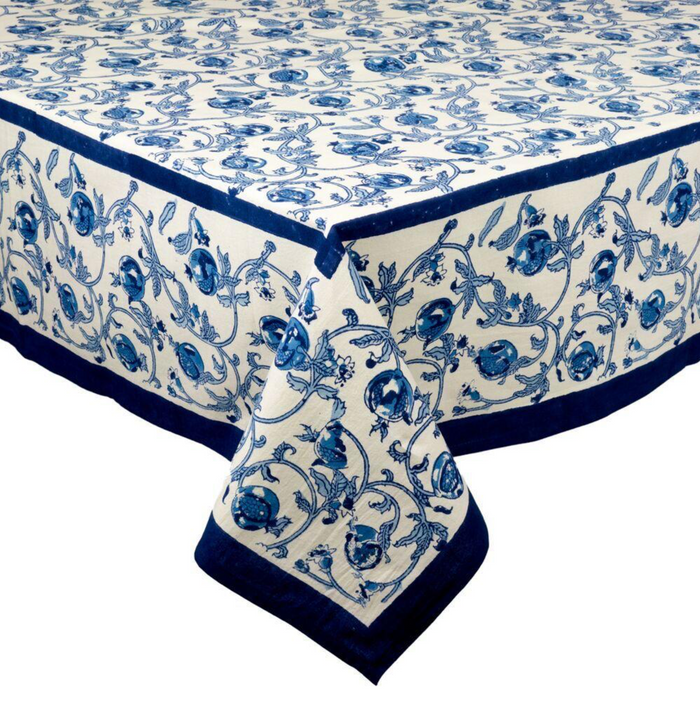 French Tablecloth Granada Blue