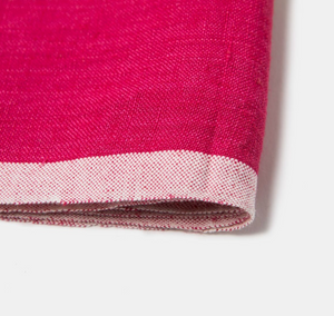Laundered Linen Napkin Pink & Lime