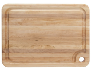 John Boos Maple Wood Cutting Board with Juice Groove, 20 x 15 x 1.25 Inches