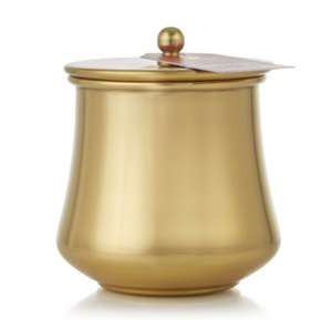 Thymes SIMMERED CIDER GOLD KETTLE CUP CANDLE