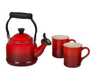 Demi Kettle and Mugs Set