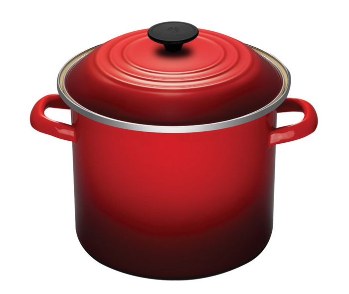 Le Creuset Enameled-Steel Stock Pot 8QT